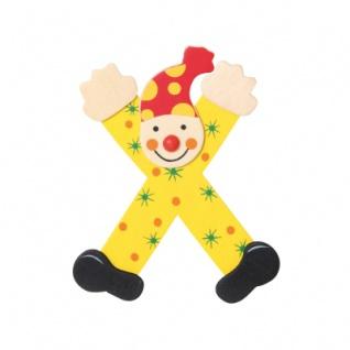 Buchstabe Clown X