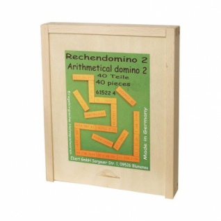 Rechendomino 2 - Multiplikation und Division - Lernspiel - 40 Teile