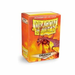 Dragon Shield Matte - Orange (100 Stück)