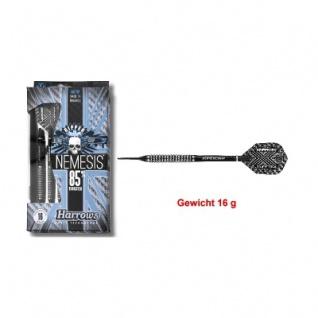 3 x Softdart - Harrows - Nemesis - 80 Nickel-Tungsten - Slim Flight - 16g