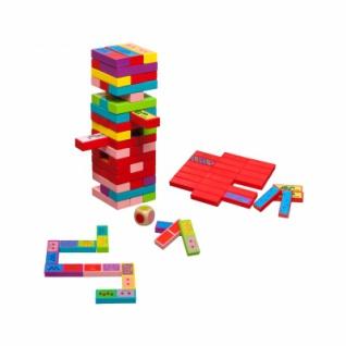 Verflixter Turm 3 in 1 - bunt - drei Spiele in einem