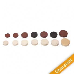 Spielsteine - rund - Holz - natur - 23 x 6 mm - Vorschau 5