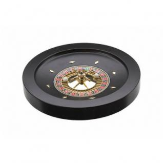 Roulette schwarz 36cm