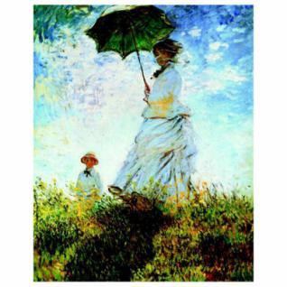 120 Teile Puzzle Dose - Monet - Der Spaziergang