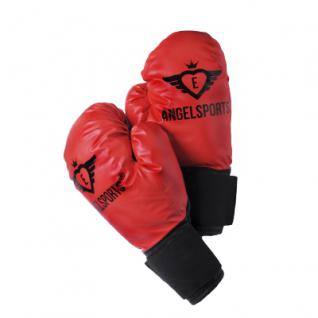 Kinder Boxhandschuhe 10 onz - rot - Vorschau 2