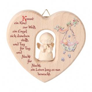 Herz mit Engel (zur Geburt)