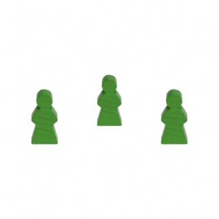 Frau - 14x30x8mm - grün