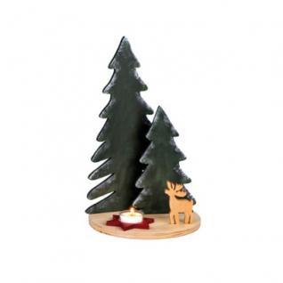 Landschaft Baum - Weihnachtsdekoration - Höhe 34 cm