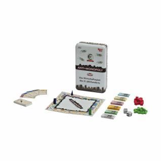 Anti-Monopoly Kompaktspiel - Metallbox