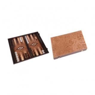 Dokos - groß - Backgammon - Kassette - Holz