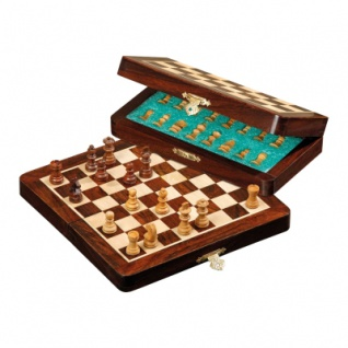 Schachspiel - Reiseschach - klein - Breite 18 cm