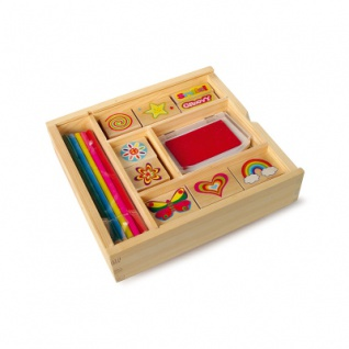 Stempel-Box