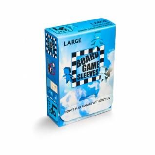 Kartenspiel-Hülle, groß (50 Stück, 59 x 92 mm), blendfrei