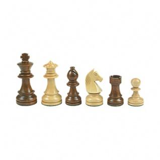 Schachfiguren - Staunton - braun - Königshöhe 95 mm - gewichtet