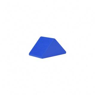 Baustein - Dreieck - 30x47x25 mm - blau