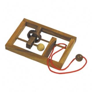 Verflixter Rahmen - Denkspiel - Knobelspiel - Geduldspiel