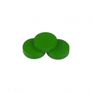 Scheibe - Europa - 28x7mm - grün