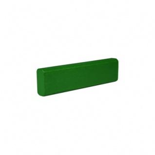 Baustein - Leiste - 75x12, 5x25 mm - grün