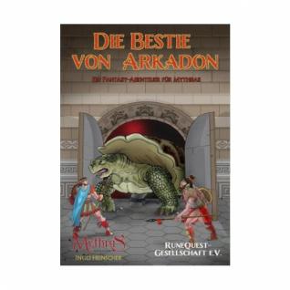 Mythras - Die Bestie von Arkadon - Ein Fantasy-Abenteuer für Mythras