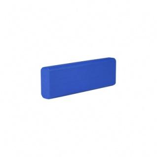 Baustein - Leiste - 75x12, 5x25 mm - blau