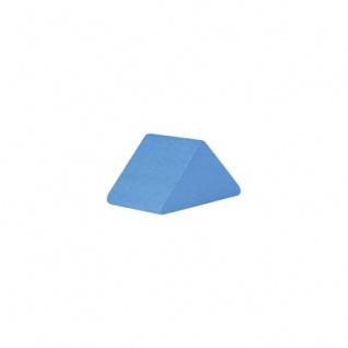 Baustein - Dreieck - 30x47x25 mm - hellblau