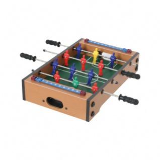 Holz-Tischfußballspiel