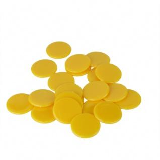 Spielchips - 25 mm - gelb
