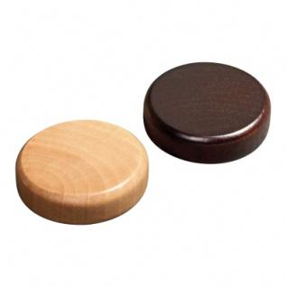 BG-Spielsteine - klein - Erle - 25 x 8 mm - braun und natur