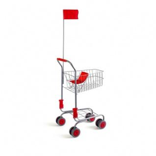 Einkaufswagen - silber