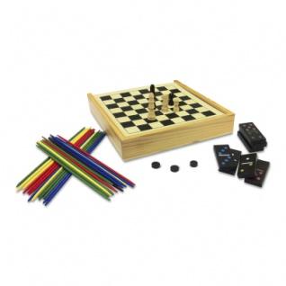 Spielesammlung aus Holz - klein