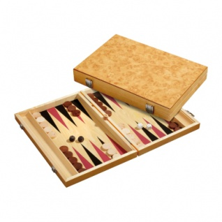 Backgammon - Kassette - Paris - Holz - standard