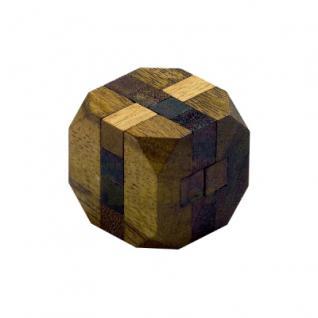 Aquarius - 12 Puzzleteile - Denkspiel - Knobelspiel - Geduldspiel