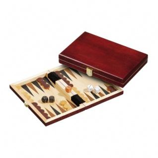 Backgammon - Reisespiel - Kassette - Achilleas - Holz - mini