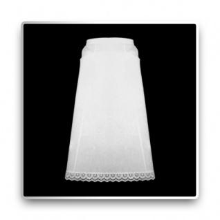 Halbschürze - weiß - 64 cm