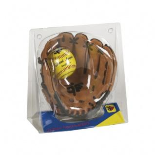 Baseball Fanghandschuh mit Ball - für Kinder