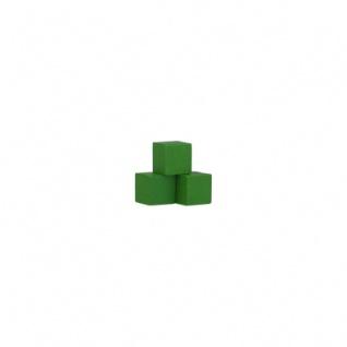 Würfel - Quader - kantig - 8mm - grün