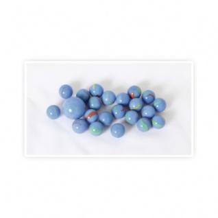 Murmeln blau -21 St.-