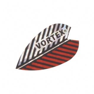 3 x Fly Vortex X 3 - rot-silber - Aluminium-Beschichtung