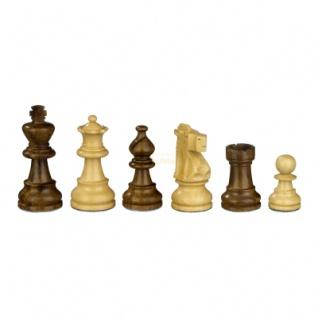 Schachfiguren - Napoleon - Holz - Franz. Lardy-Staunton - Königshöhe 65 mm