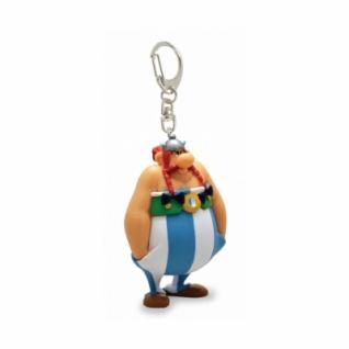 Asterix - Obelix wütend mit Händen in den Taschen, Schlüsselanhänger