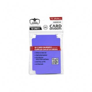 Ultimate Guard Card Divider Standard Size Violett - 10