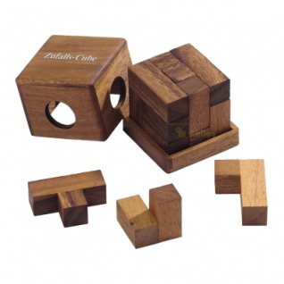 Zufalls-Cube - Denkspiel - Knobelspiel - Geduldspiel
