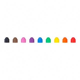 Spielfigur Tower - stapelbar - rosa - Kunststoff - 12 x 13 mm - Vorschau 4