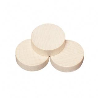 Spielsteine - rund - Holz - natur - 23 x 6 mm - Vorschau 1
