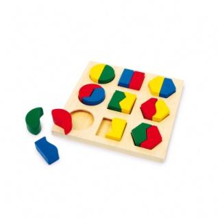 Steckpuzzle Formen Pärchen
