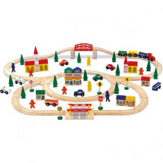 Holzeisenbahn - groß
