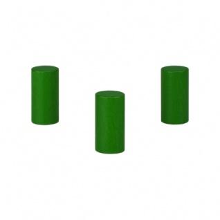 Zylinder - Walze Apollo - 15x30mm - grün