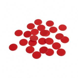 Spielchips - 22 mm - rot - matt