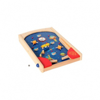Space Pinball aus Holz
