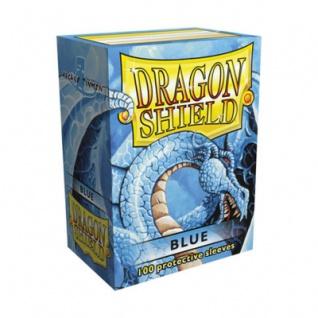 Dragon Shield - Blau - 100 Stück